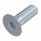 countersunk screw with hexagon socket according to DIN 7991