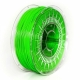 0,33kg Filamento stampa 3D PET-G 1,75 mm light green transparent (Made in Europe)